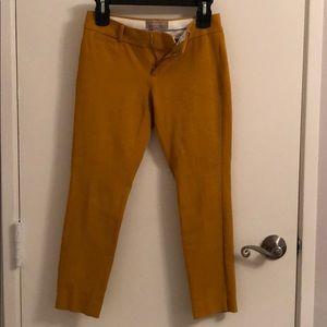 Pants - Mustard color sloan fit
